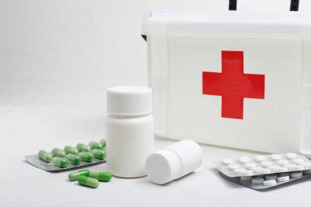 Kit Farmácia para levar para o hotel fazenda